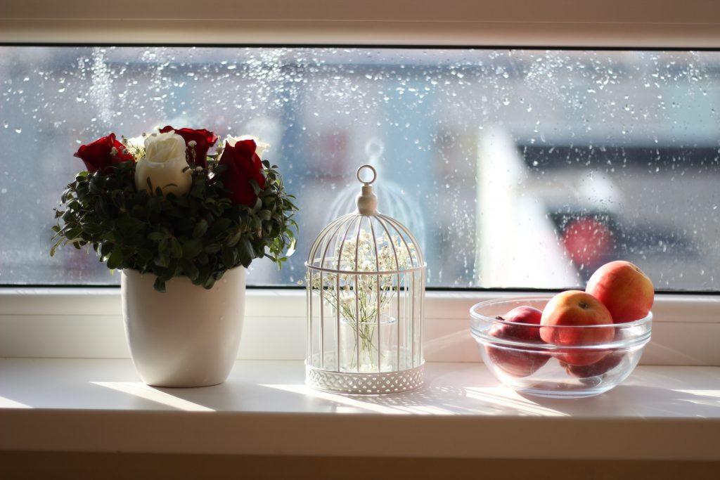 window sill decor