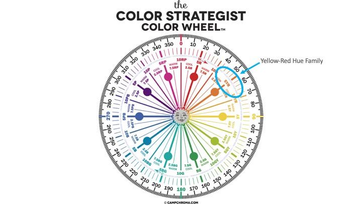 colour strategist colour wheel