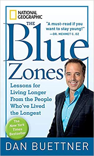 The Blue zone book cover