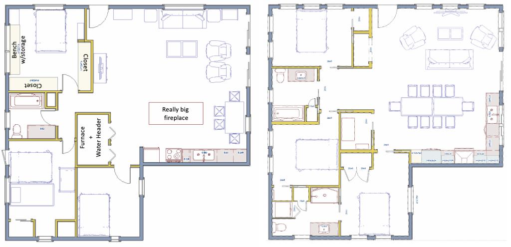the functional plan floor plan space plan