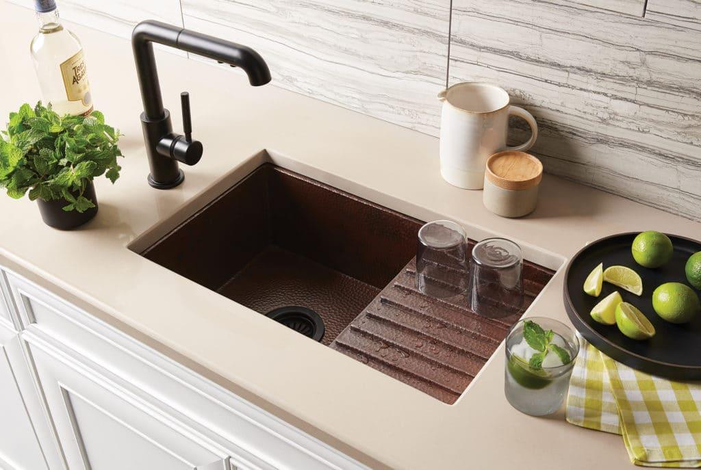 a prep sink
