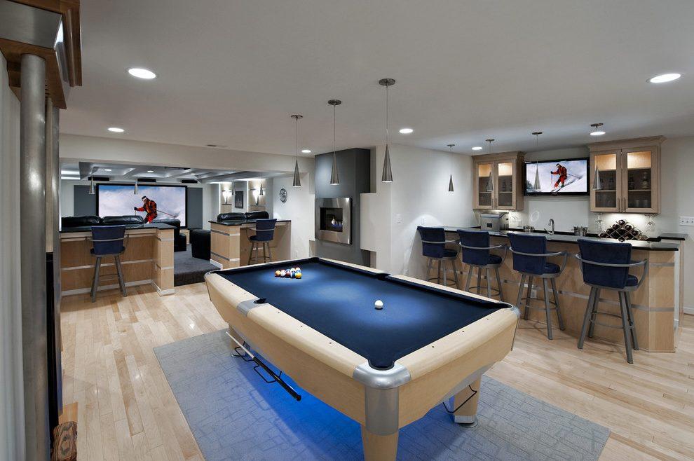 open concept basement design