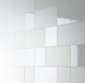 Tiles with different finishes