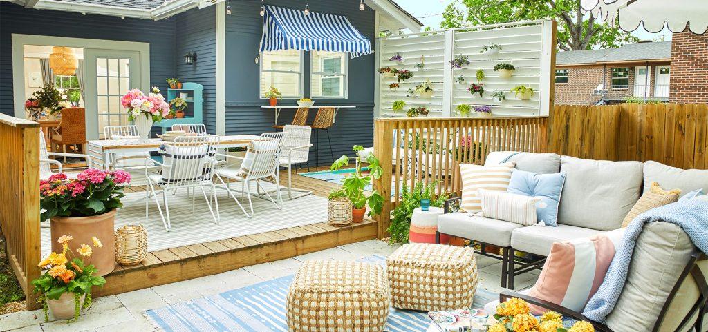 Stunning back yard design
